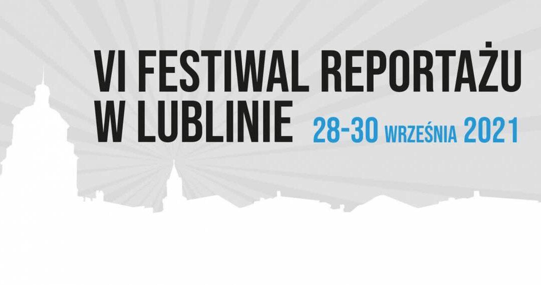 VI Festiwal Reportażu w Lublinie – Plebiscyt na Najlepszą Książkę Reporterską 2020 roku