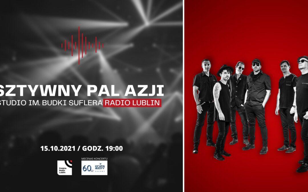 Koncert zespołu Sztywny Pal Azji w Radiu Lublin
